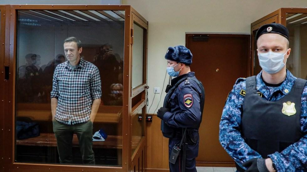 Tribunal rechaza apelación de sentencia de prisión contra Alexéi Navalni - Foto de EFE