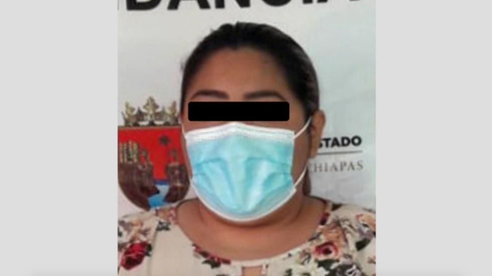 Detienen a directora de clínica en Chiapas relacionada en Caso Mariana Sánchez - Foto de Fiscalía de Chiapas