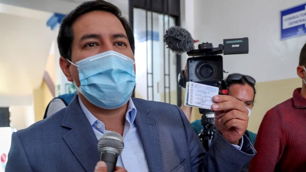 Andrés Arauz gana elección presidencial en Ecuador; necesitaría segunda vuelta - Andrés Araúz Ecuador elecciones presidenciales