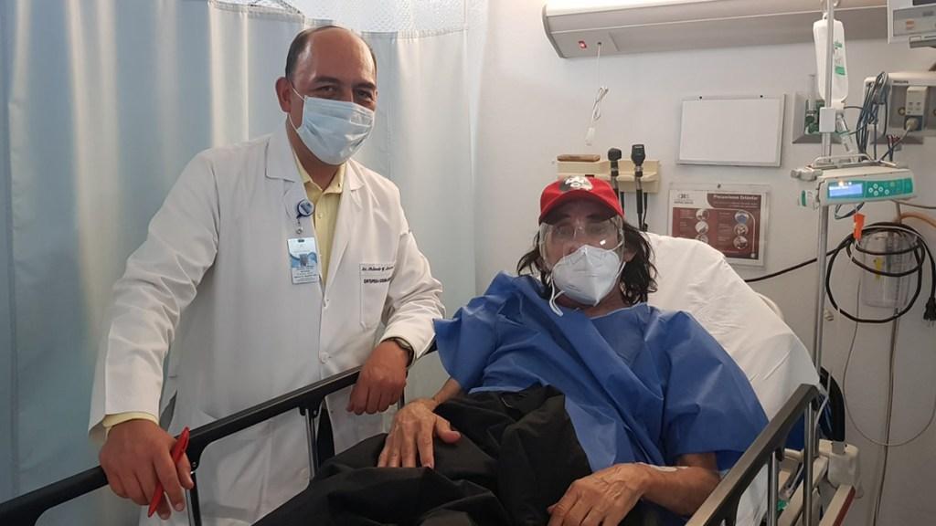 Hospitalizan de emergencia a 'Cepillín'; piden donar para gastos hospitalarios - Cepillín en el hospital. Foto de @CepillínTv