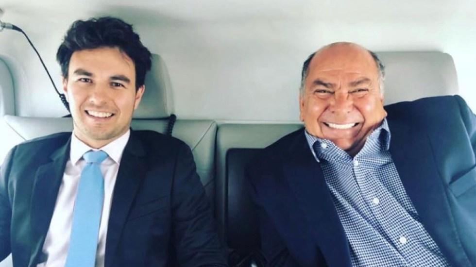 """""""¿No lo estás haciendo por dinero?"""": la entrevista de 'Checo' Pérez' a su padre, quien busca alcaldía de Guadalajara - Foto de @aperezgaribay"""