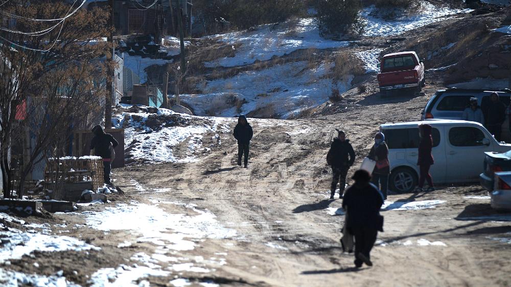 Suben a ocho los muertos por la tormenta invernal en el norte de México - Foto de EFE