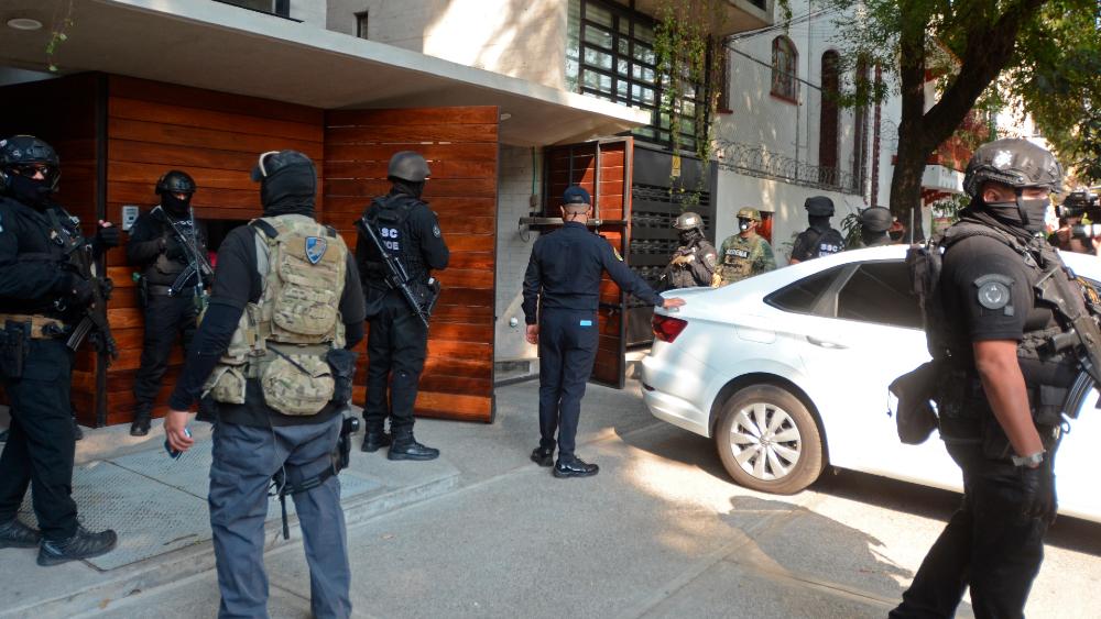 Aseguramientos de droga son parte de la lucha frontal contra la violencia y el crimen organizado: García Harfuch - Foto de EFE