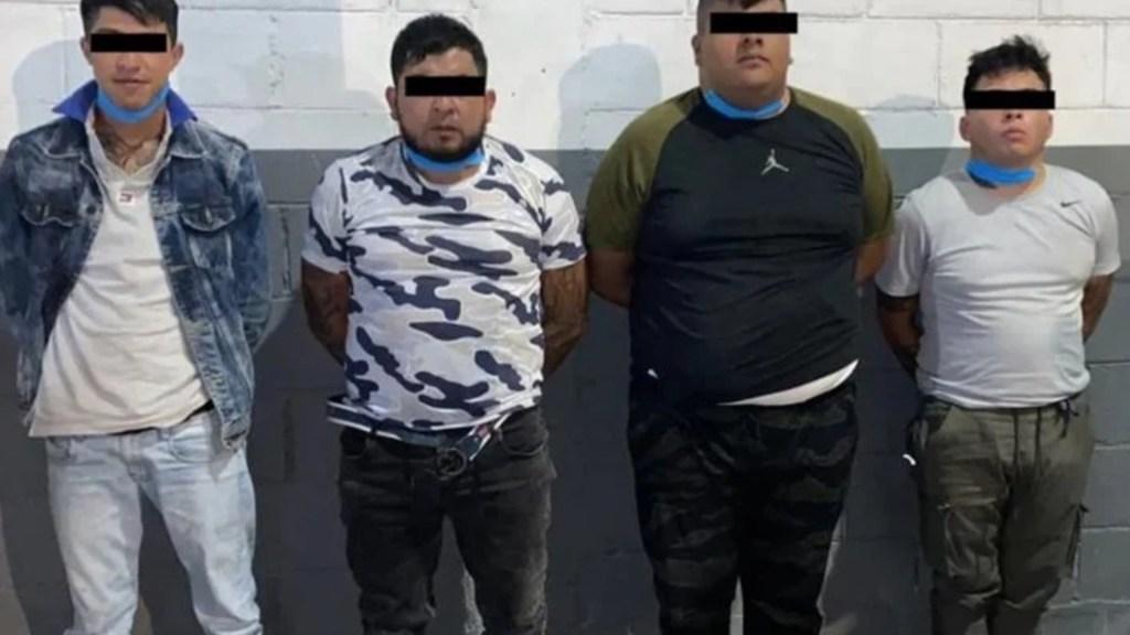 Detienen a cuatro presuntos integrantes de La Unión Tepito involucrados en muerte de niños mazahuas - Foto de SSC