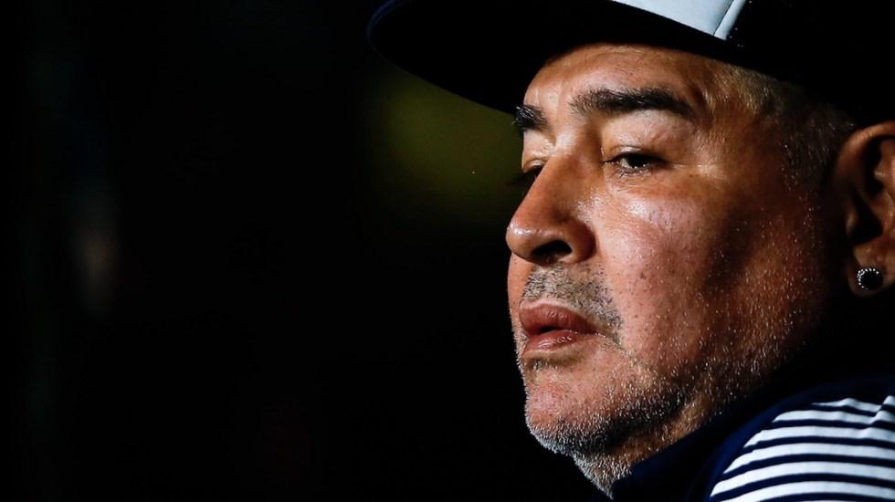 Justicia investiga las condiciones del tratamiento domiciliario que seguía Maradona - Foto de EFE