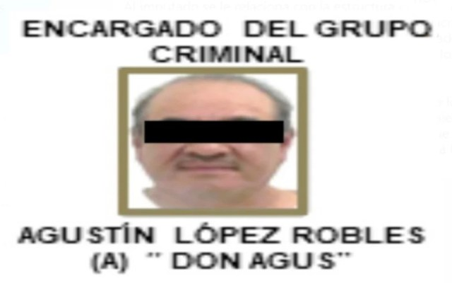 Detienen a 'Don Agus', uno de los principales narcotraficantes en Tlalpan - 'Don Agus'. Foto de El Universal
