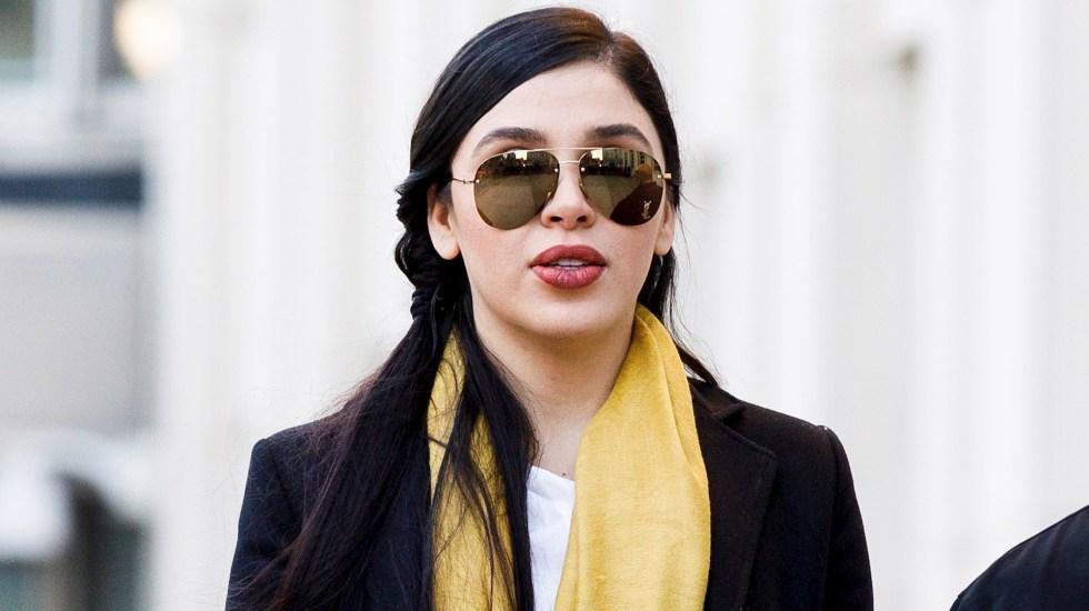 Emma Coronel pasa encerrada 22 horas al día, denuncia abogada - Emma Coronel Aispuro, esposa de 'El Chapo' Guzmán. Foto de EFE