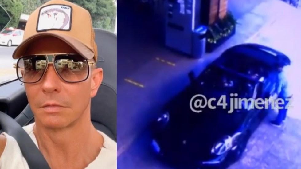 Resultado de imagen para El cantante Erik Rubin fue asaltado en Polanco; arrestan a dos sospechosos
