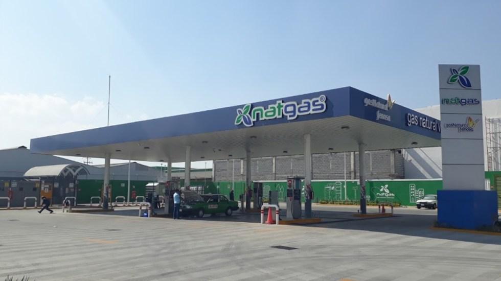 Desabasto de gas natural en Querétaro afecta transporte público - Estación de carga de gas natural NatGas en Querétaro. Foto de Google Maps / Alan Tovar