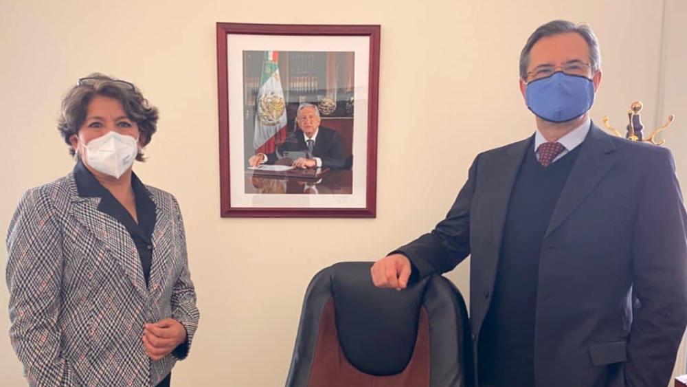 López Obrador formaliza cambio en la SEP; llega Delfina Gómez en sustitución de Esteban Moctezuma - Foto de SEP