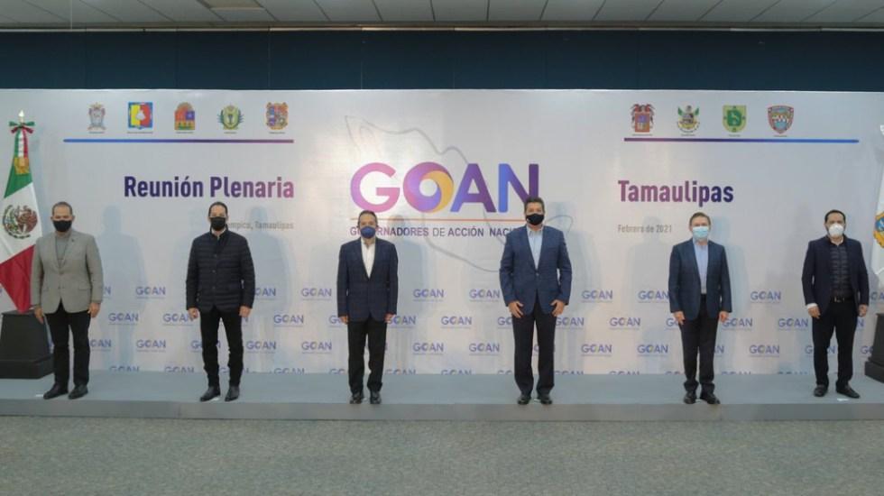 Piden gobernadores del PAN recomponer estrategia de vacunación nacional - Foto de @fgcabezadevaca