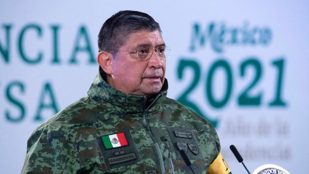 El general secretario Luis Cresencio Sandoval da positivo en prueba de seguimiento a COVID-19 - General Luis Cresencio Sandoval. Foto de Gobierno de México