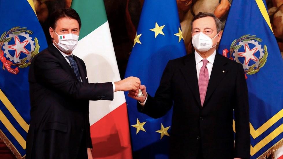 Mario Draghi se convierte en nuevo primer ministro de Italia tras salida de Giuseppe Conte - Foto de EFE