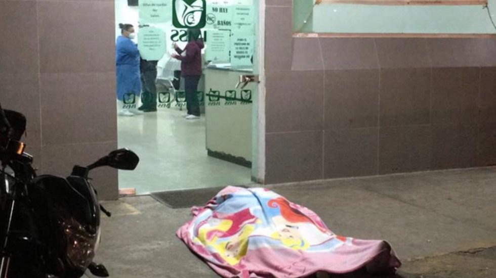 #Video Hombre murió en la puerta del hospital Magdalena de las Salinas - Captura de pantalla