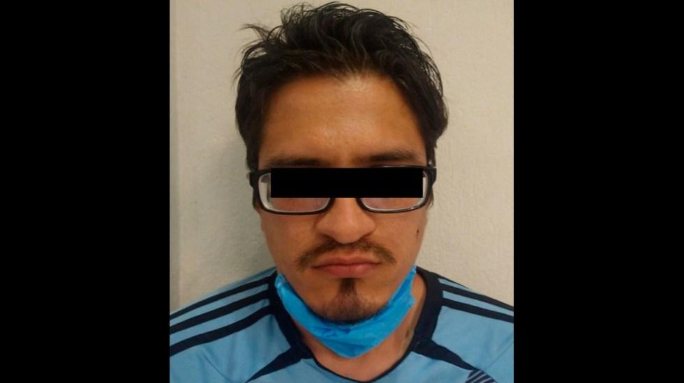 Detienen en Naucalpan a sujeto que trasladaba restos de mujer en bolsa