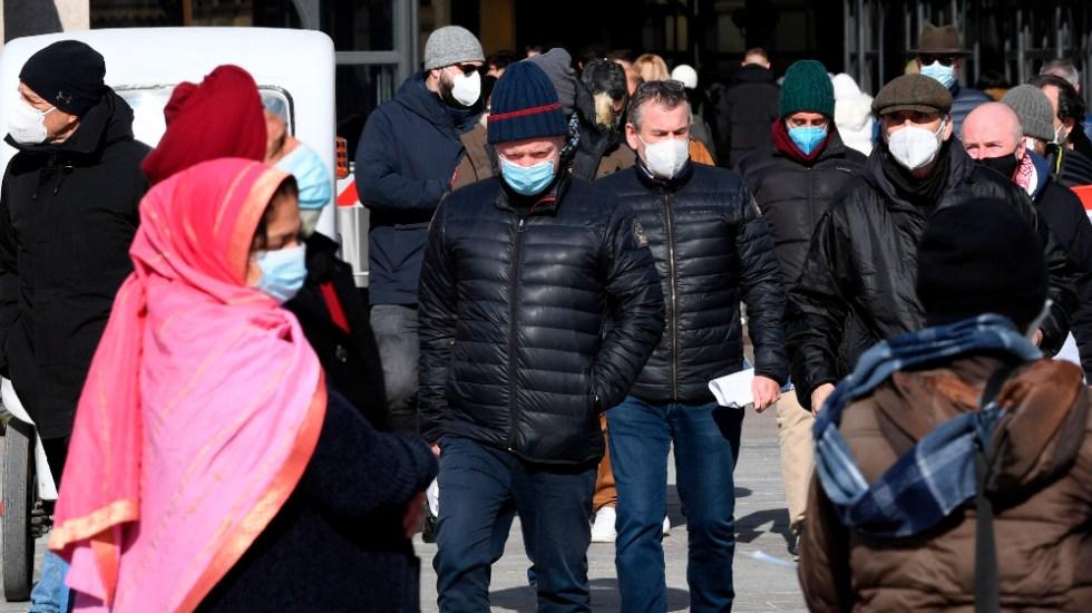 Virólogos piden confinamiento total en Italia ante avance variante británica - Foto de EFE