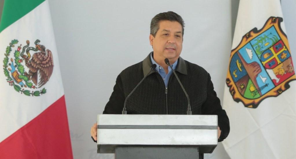 """García Cabeza de Vaca denuncia """"golpe a la democracia"""" tras aprobación de su desafuero - En la foto, el gobernador de Tamaulipas. Foto de @fgcabezadevaca"""