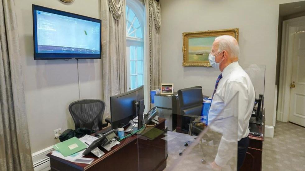 """""""Nada está más allá del ámbito de lo posible"""", expresa Joe Biden tras amartizaje del Perseverance - Joe Biden Marte Rover perseverance 2"""