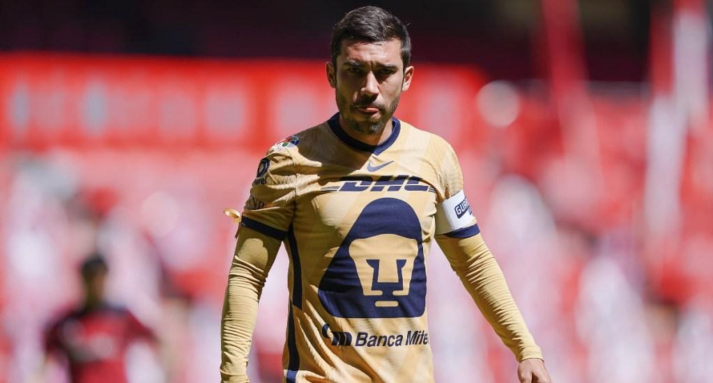 Con polémico gol anulado, Pumas cae ante Toluca en la Jornada 6 - Juan Pablo Vigón Pumas UNAM