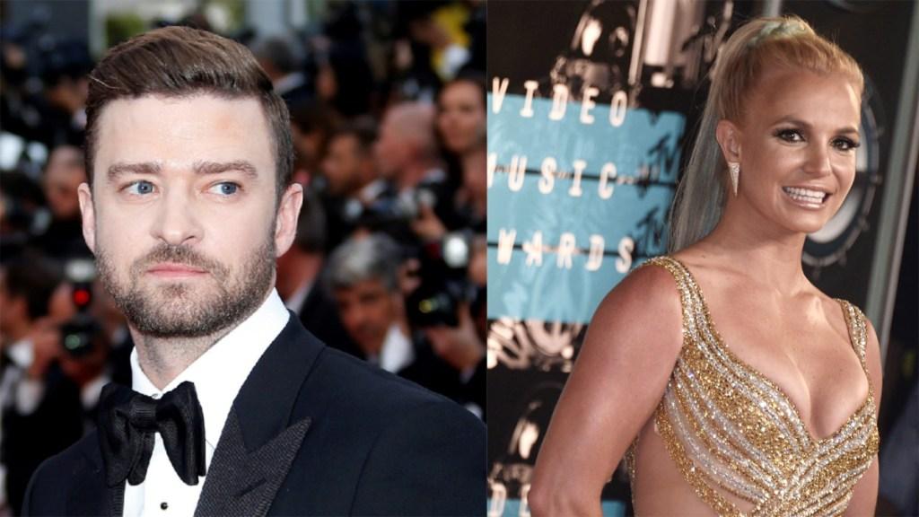 Justin Timberlake se disculpa con Britney Spears y admite doble moral en su beneficio - Justin Timberlake y Britney Spears. Foto de EFE