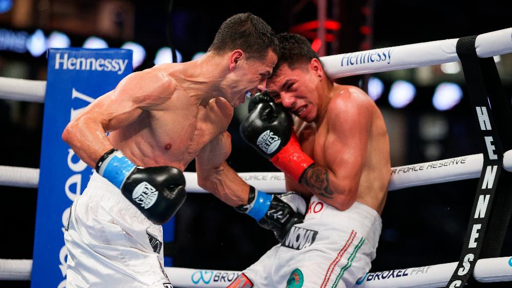 Puertorriqueño Arroyo vence a Rodríguez y gana el título interino del CMB - Foto de EFE