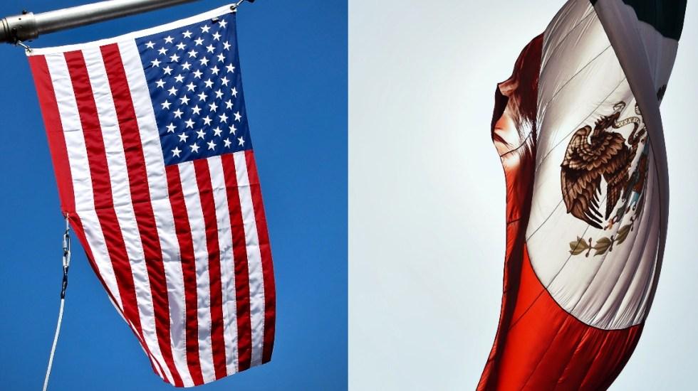 México pedirá a EE.UU. respeto mutuo en diálogo de alto nivel - México Estados Unidos banderas