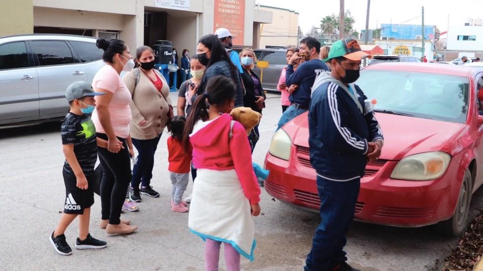 Piden paciencia a migrantes por fallas en sistema electrónico para solicitar asilo en EE.UU. - Foto de EFE