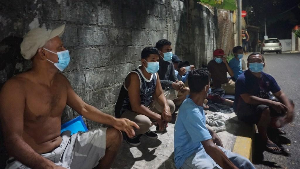 Albergues en Chiapas rechazan a migrantes hondureños por repunte de casos de COVID-19 - Migrantes hondureños COVID-19 Chiapas pandemia 2