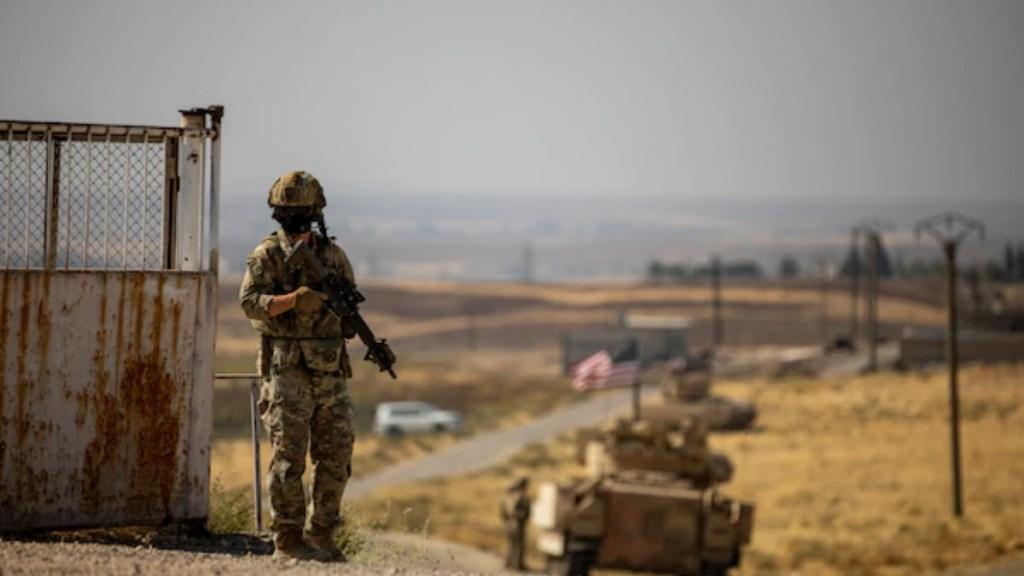 EE.UU. bombardea presuntas posiciones de milicias proiraníes en Siria - Militares Estados Unidos Siria