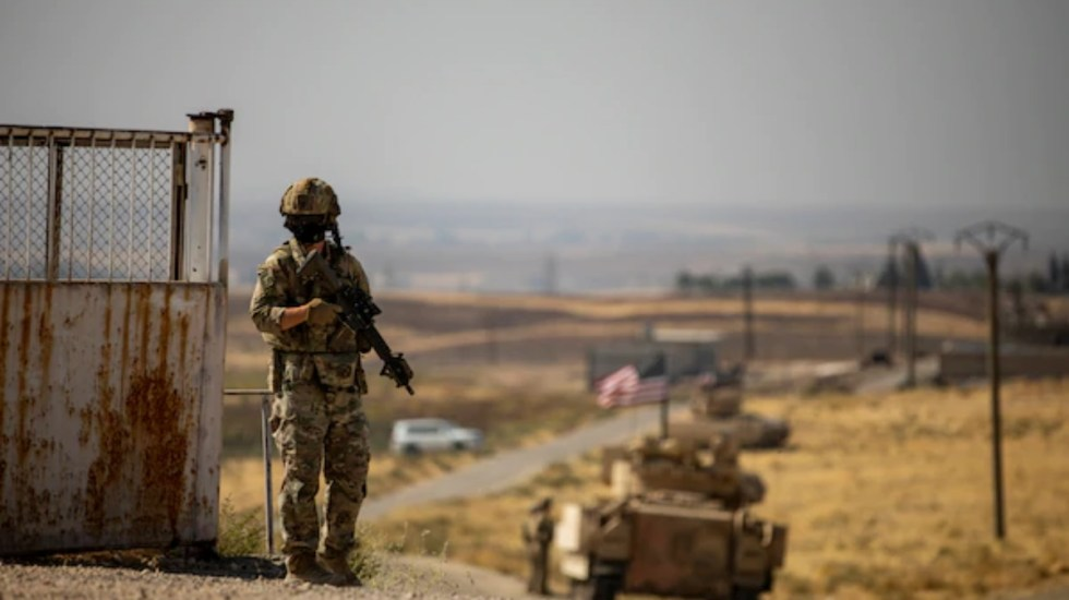EE.UU. bombardea posiciones de milicias apoyadas por Irán en Siria e Irak