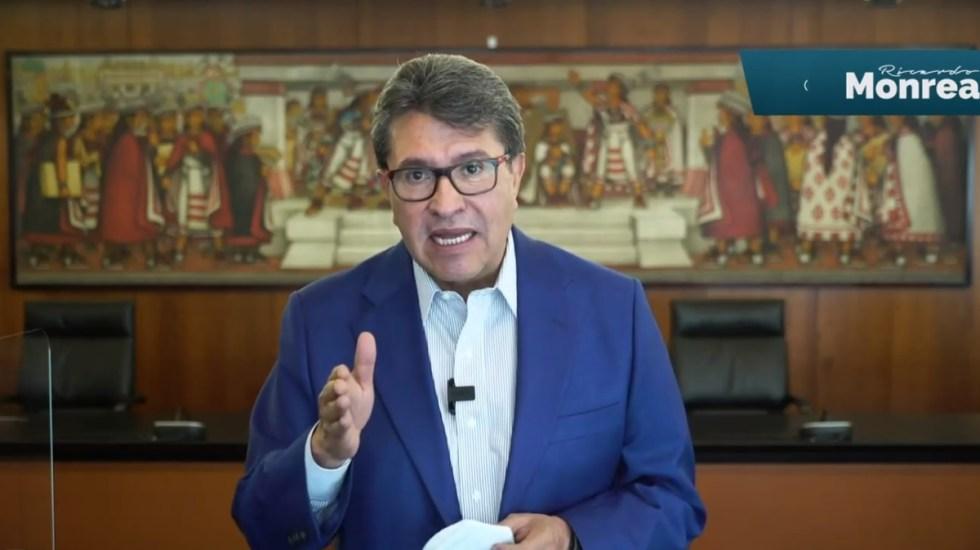 Regulación de redes sociales incluirá homologación de carga tributaria, adelanta Ricardo Monreal - Ricardo Monreal. Captura de pantalla