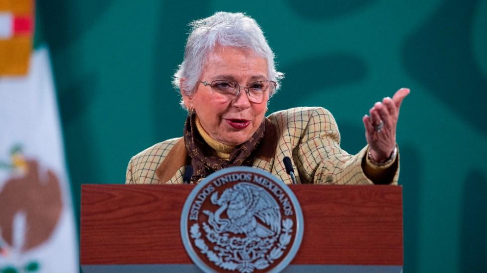 No tenemos previsto que se convoque a una nueva Constitución: Sánchez Cordero - Olga Sanchez Cordero