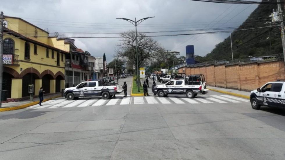 Policía estatal de Veracruz asume mando en Orizaba; hay dos elementos municipales detenidos - Foto de SSP Veracruz