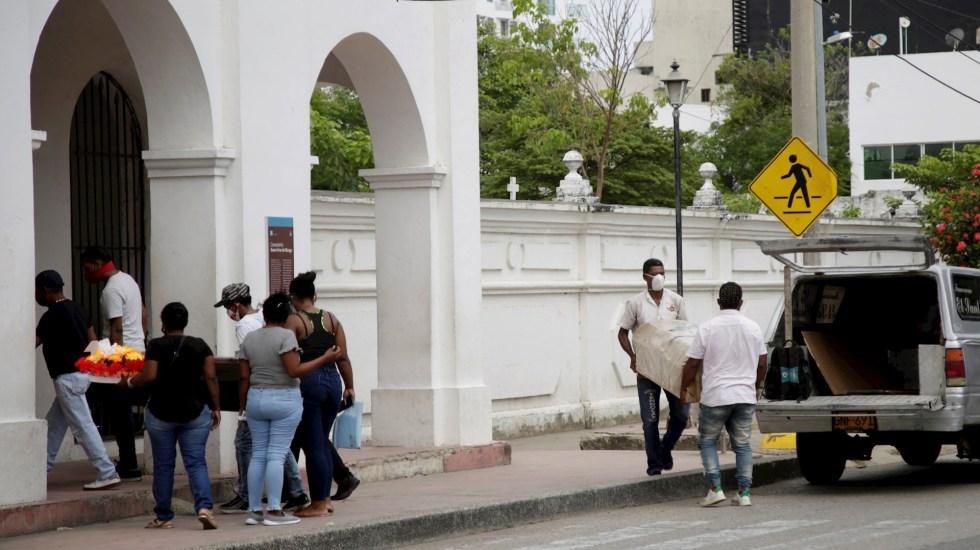 Colombia registra la cifra más baja de muertos por COVID-19 desde diciembre - Pandemia COVID-19 Colombia epidemia coronavirus