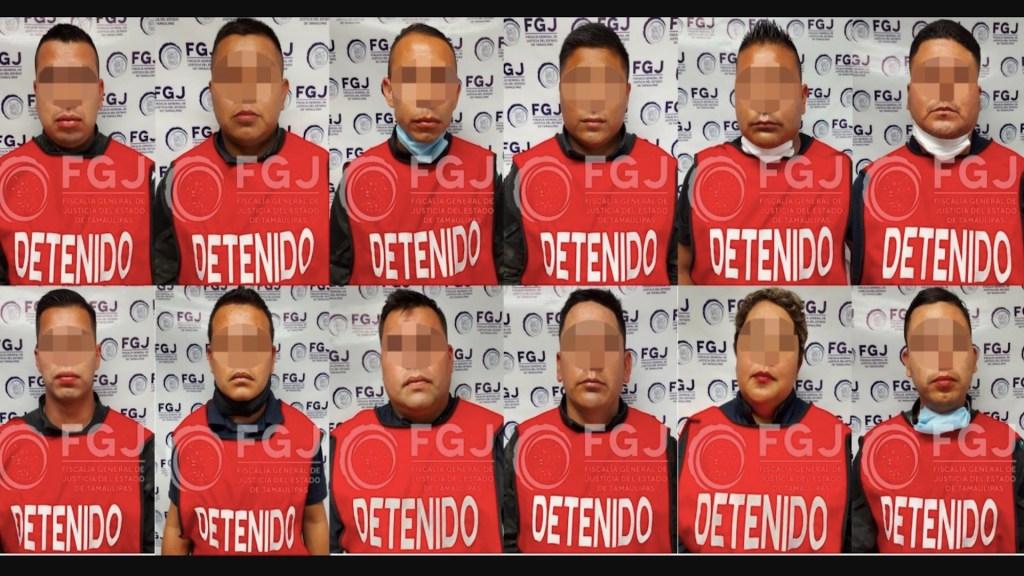 Vinculan a proceso a 12 policías de Tamaulipas por su presunta participación en caso Camargo - Foto de Fiscalía Tamaulipas