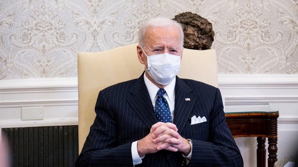 Biden afirma que no verá el juicio político a Donald Trump - Presidente de EE.UU., Joe Biden. Foto de EFE