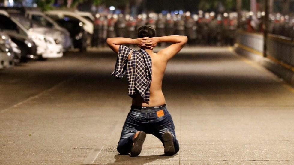Violencia tras golpe de Estado en Birmania ha dejado al menos 30 muertos - Foto de EFE