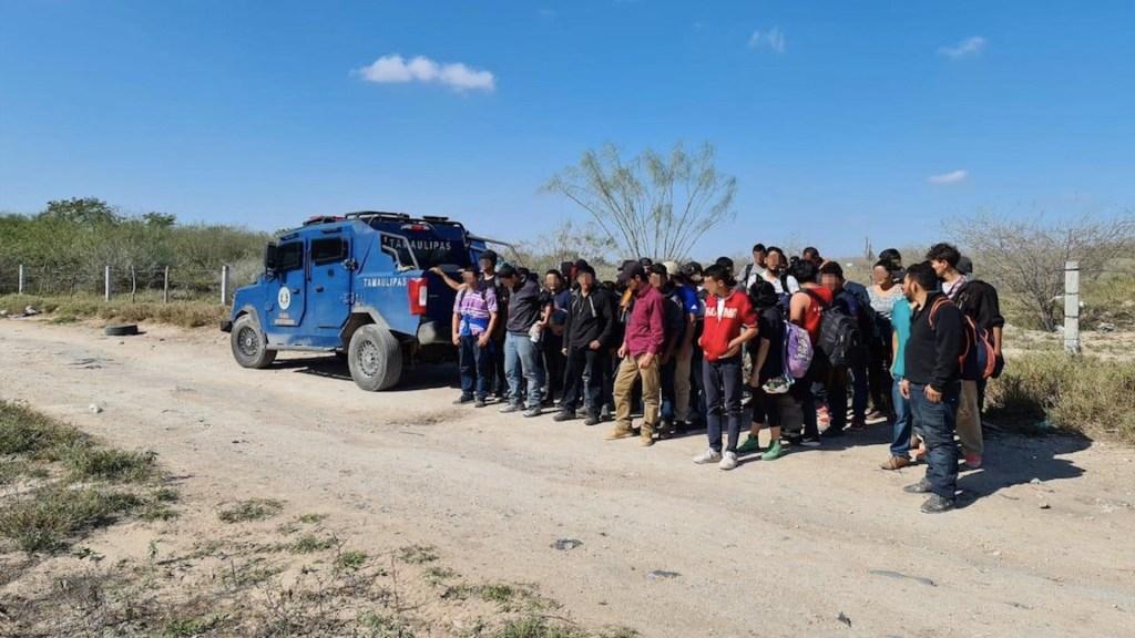 Rescatan a 49 personas en Reynosa, Tamaulipas; entre ellos había ocho mexicanos - Foto de Fiscalía de Tamaulipas