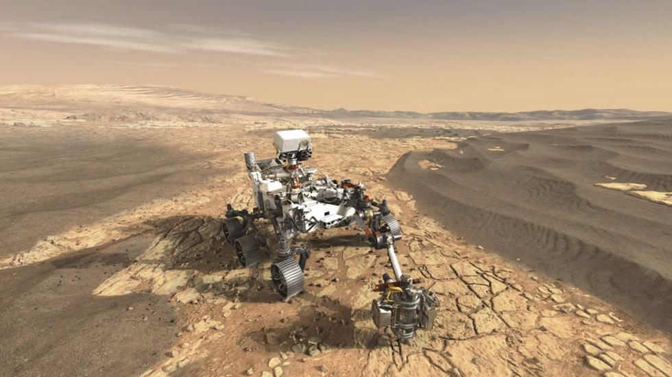 Twitter, la plataforma para ver el aterrizaje de la sonda Rover Perseverance en Marte - Rover Perseverance que aterrizará en Marte. Foto de NASA