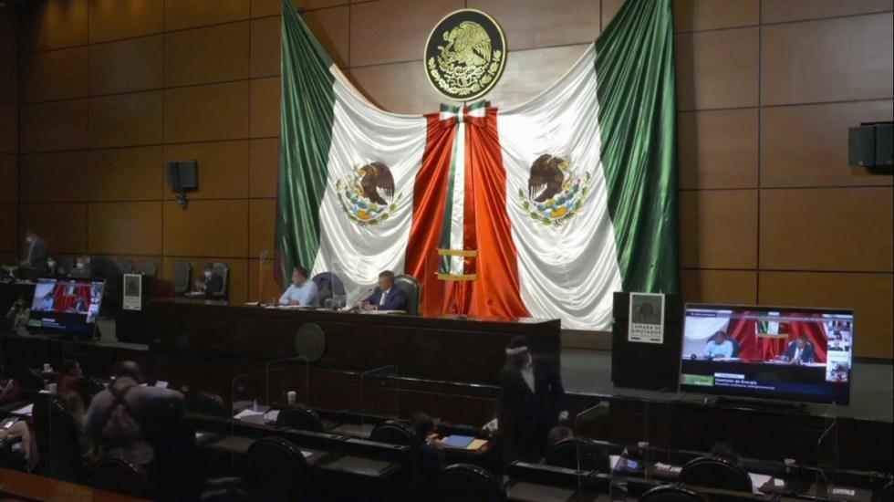 Morena impide ingreso a diputados de oposición a discusión de reforma a Ley Eléctrica - Sesión de la Comisión de Energía de la Cámara de Diputados. Captura de pantalla