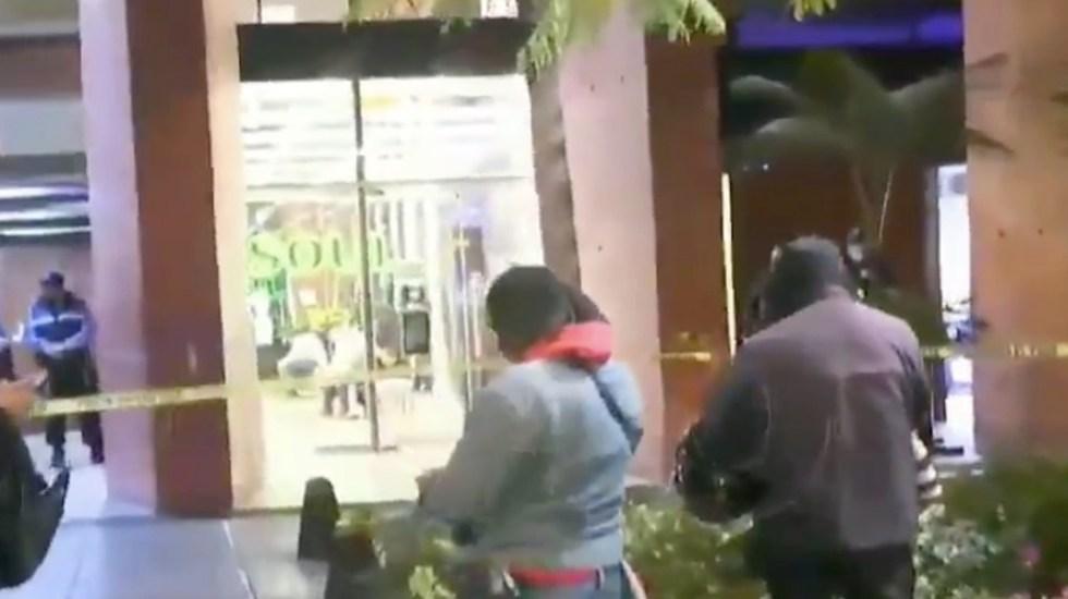 Dos detenidos tras presunto asalto en Paseo de la Reforma - Captura de pantalla