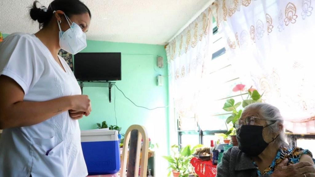 Ciudad de México aplica 100 por ciento de vacunas a adultos mayores de Cuajimalpa, Milpa Alta y Magdalena Contreras - Foto de Twitter Claudia Sheinbaum