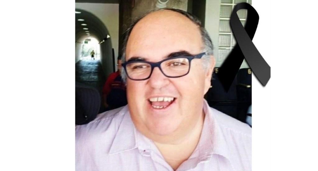Murió el reportero Fernando Mora - Fernando Mora. Descanse en paz.