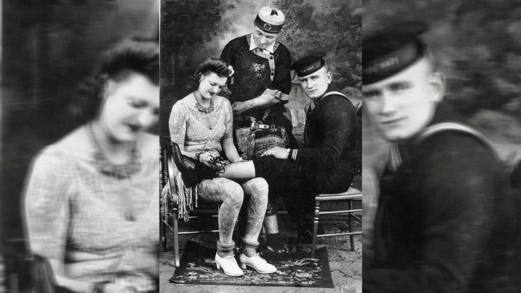 """Oda a los tatuajes, parte del 'instinto artístico más antiguo del ser humano' - Un recorrido gráfico y literario por la historia de los tatuajes, así es """"Tattoo. 1730s-1970s. Henk Schiffmacher's private collection"""" (Taschen). Imagen cedida por Taschen. (EFE)"""