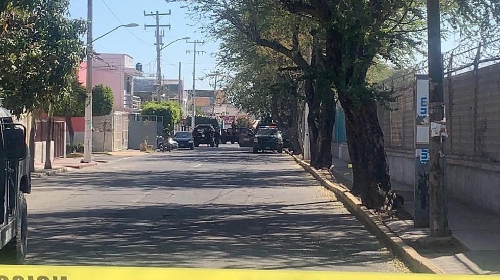 Localizan vehículo presuntamente relacionado con balacera de Zapopan - Foto de @NotiGDL