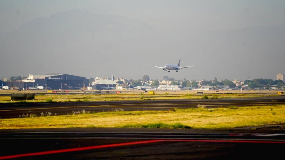 AMLO minimiza baja en la calificación de seguridad aérea de México - AICM aviación seguridad aérea