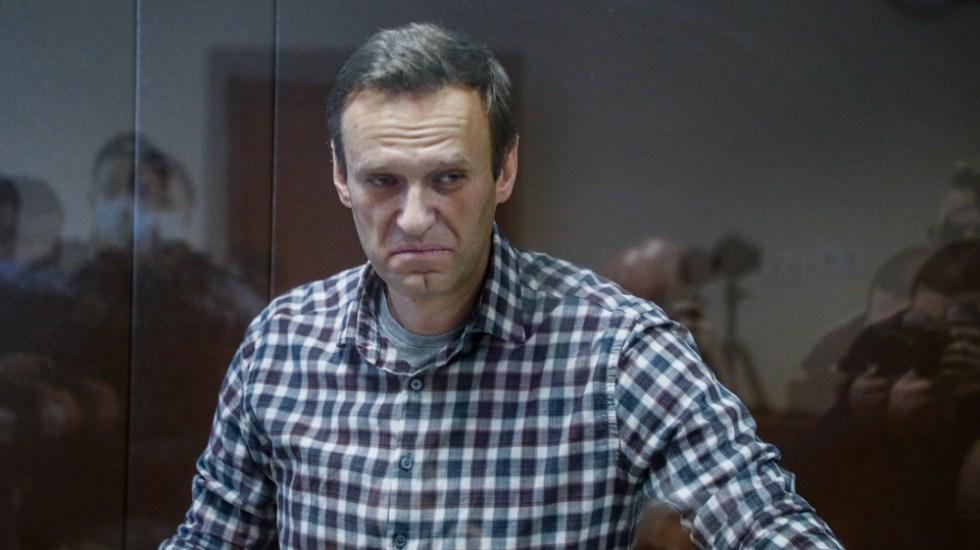 Navalni abandona su huelga de hambre en prisión tras tres semanas - Alexei Navalni