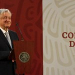 Las conferencias del presidente López Obrador; el análisis con Luis Estrada - AMLO en conferencia. Foto de Gobierno de México