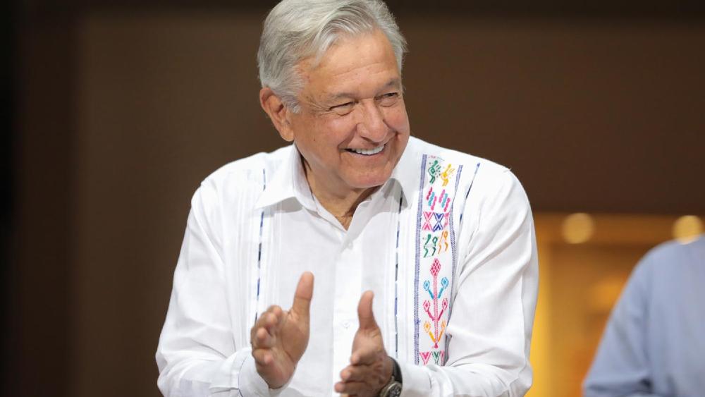"""En 2024 me retiro de la política y voy a Palenque, reitera López Obrador; afirma que """"hay relevo"""" - Foto de lopezobrador.org.mx"""