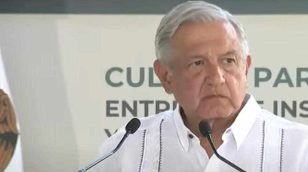 Si hay tercera ola de COVID-19, que nos agarre vacunados a todos: López Obrador - El presidente Andrés Manuel López Obrador en Oaxaca. Foto tomada de video